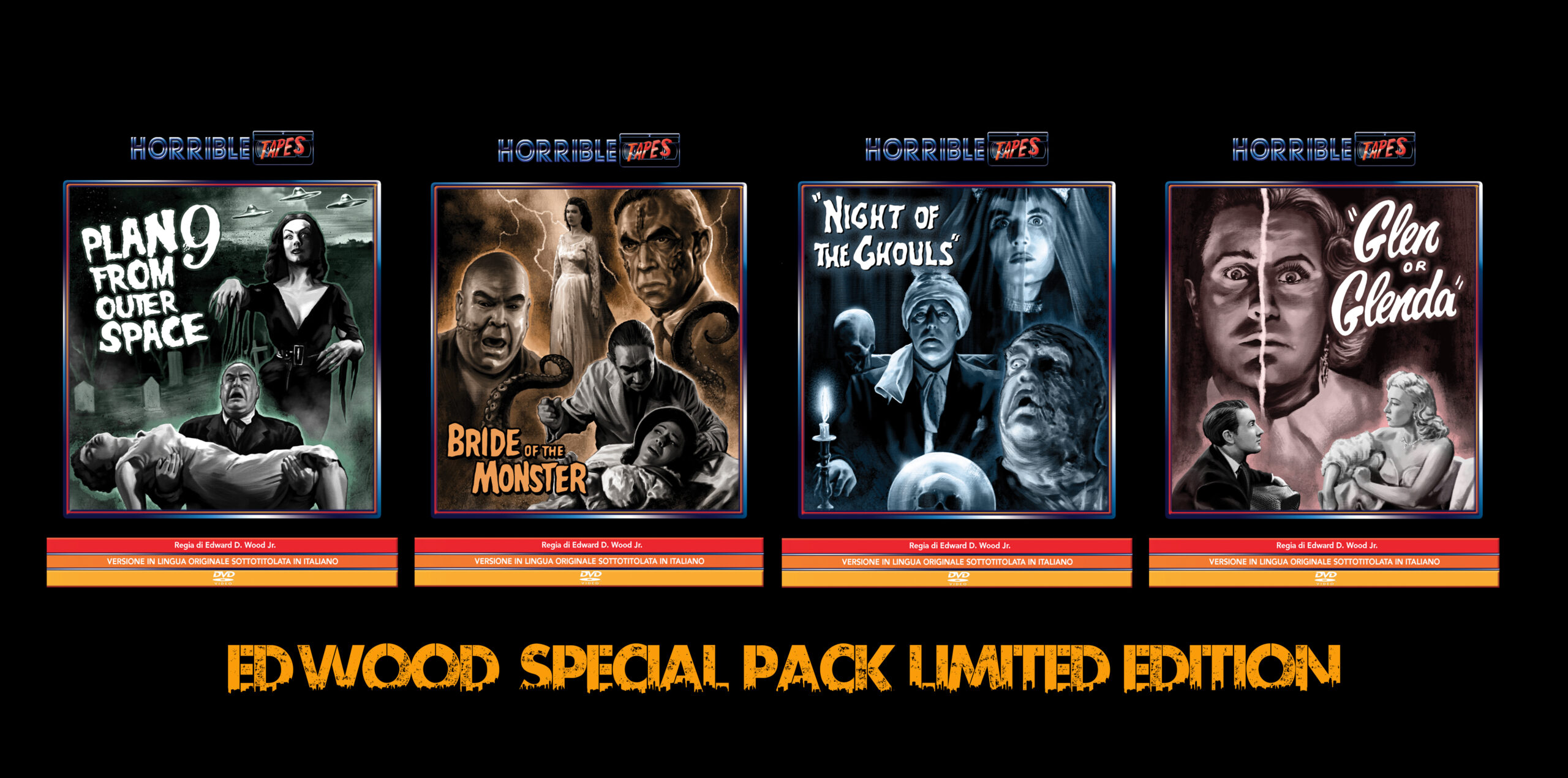 Ed Wood Special Pack Limited Edition Promo